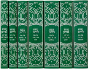 Slytherin HP Books